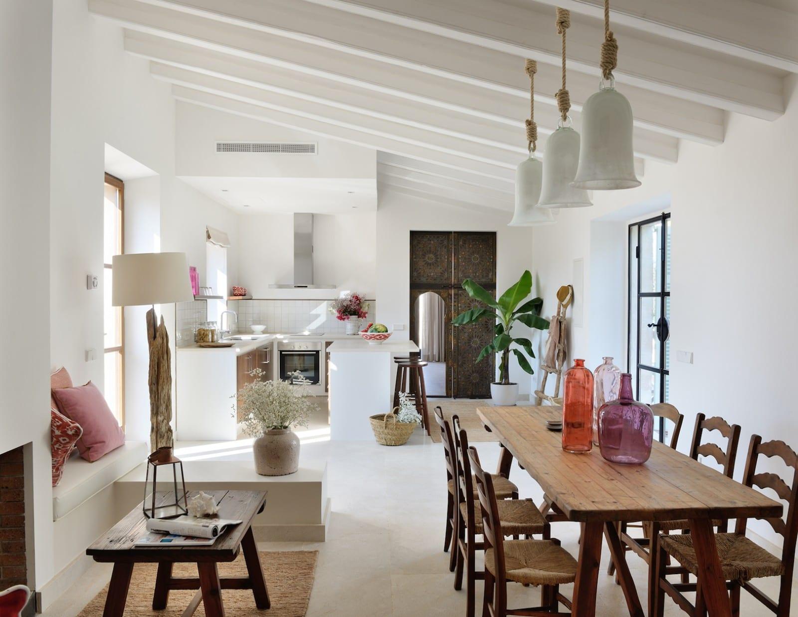 Holistic Retreat Cal Reiet Casita Terra living room and kitchen