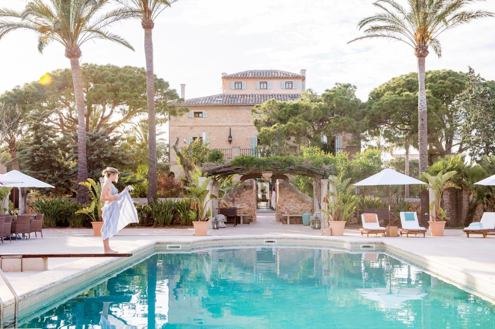 Holistic Retreat Cal Reiet Pool by Pär Olsson