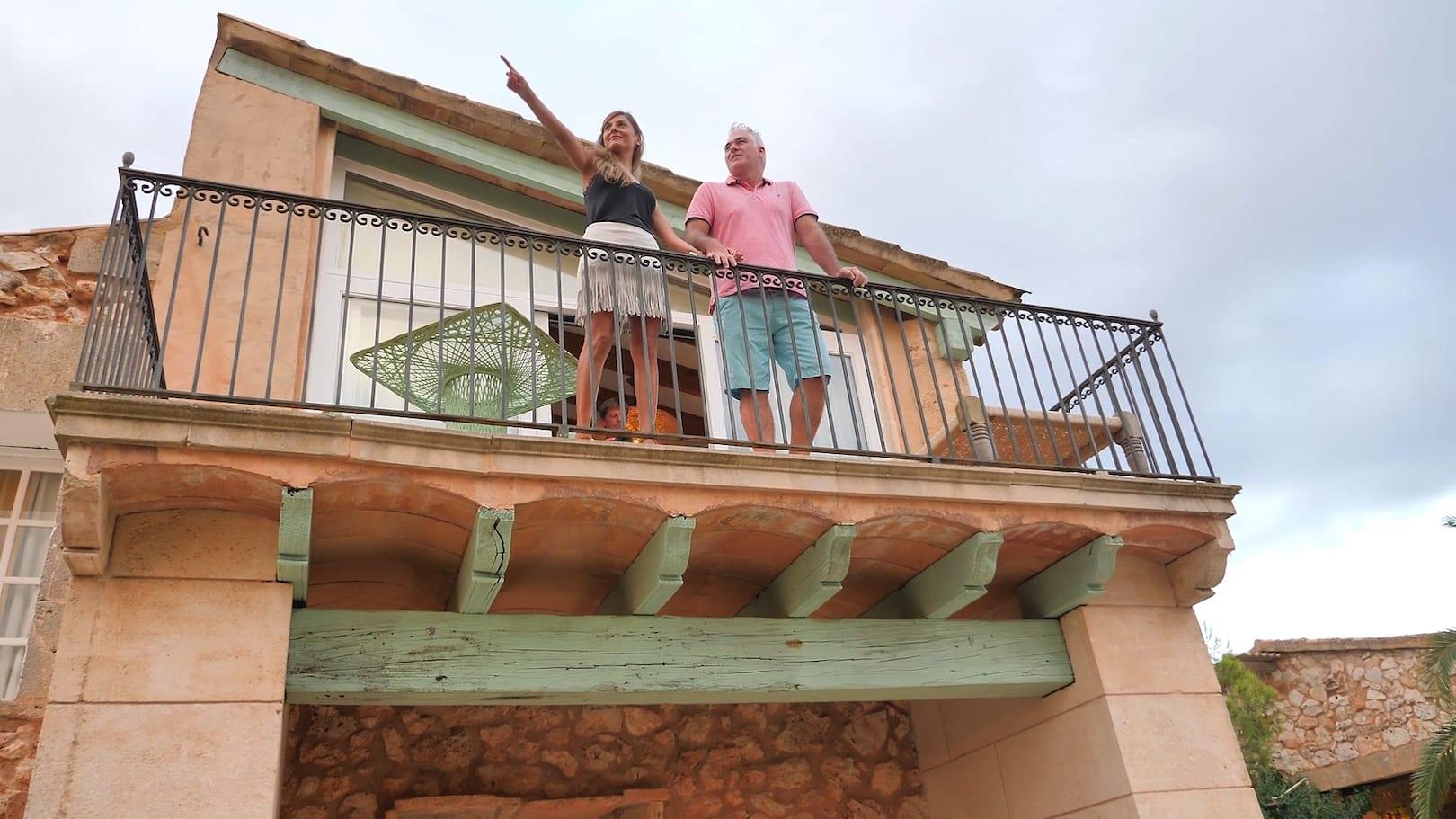 Es Turo Ses Salines Balkon