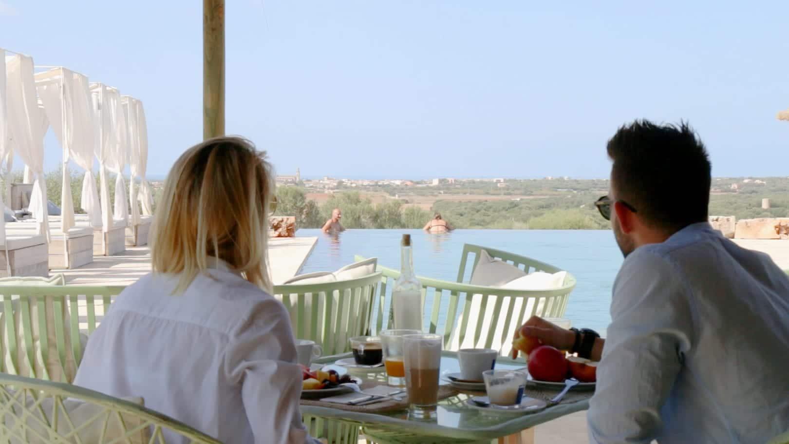 ISLA Hotel Es Turo Ses Salines Blick