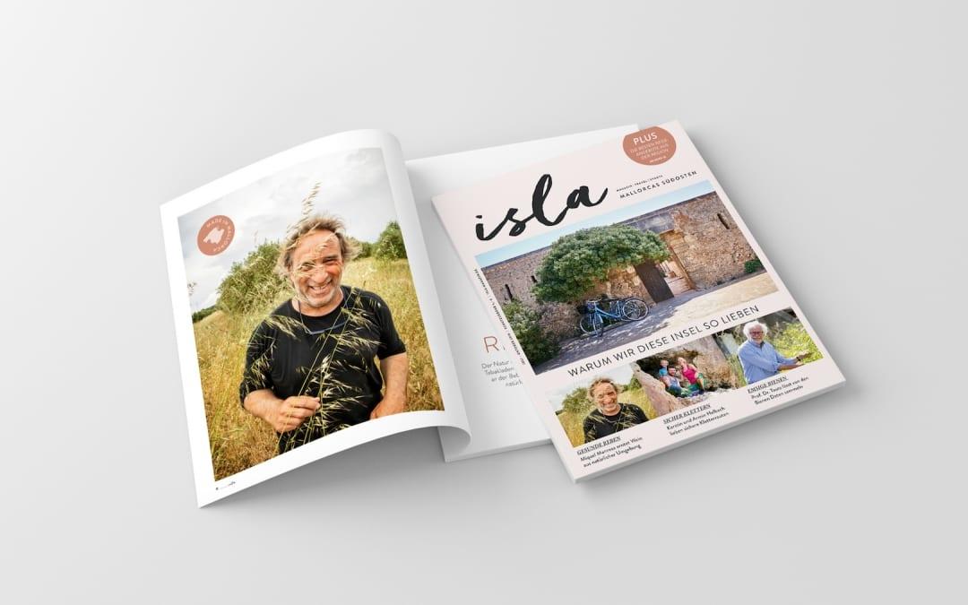 ISLA Magazin auf Mallorca kaufen!