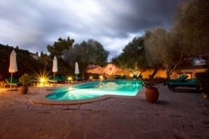 Kleine Version von: ISLA_Travel_Hotel_Sa_Galera_Pool_Abendstimmung